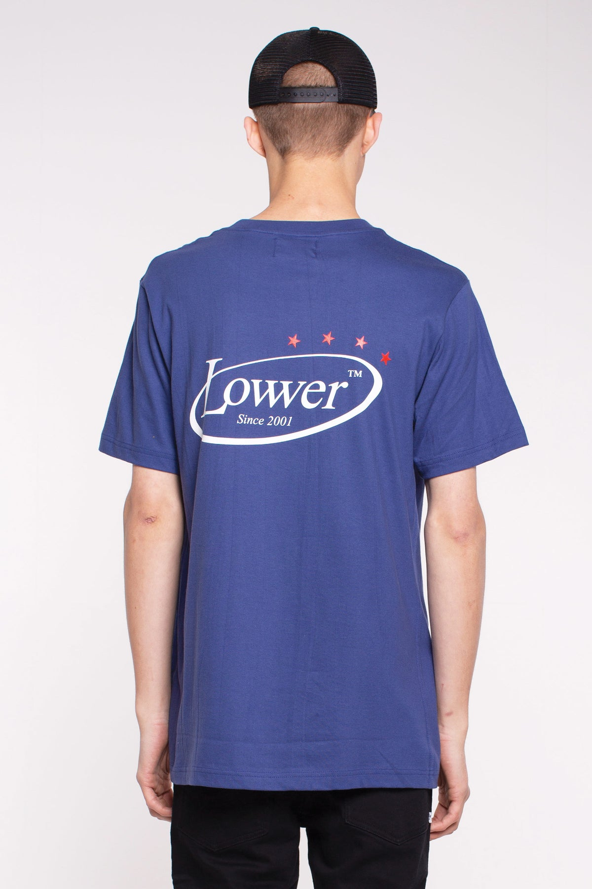 QRS Tee- Politicking - Blue