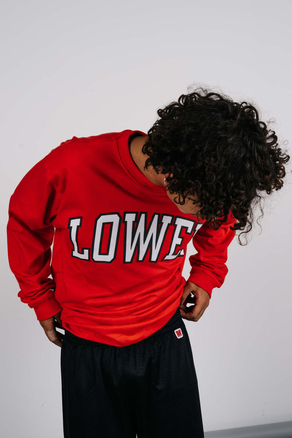 Block L/S Tee - HD Arch - Red