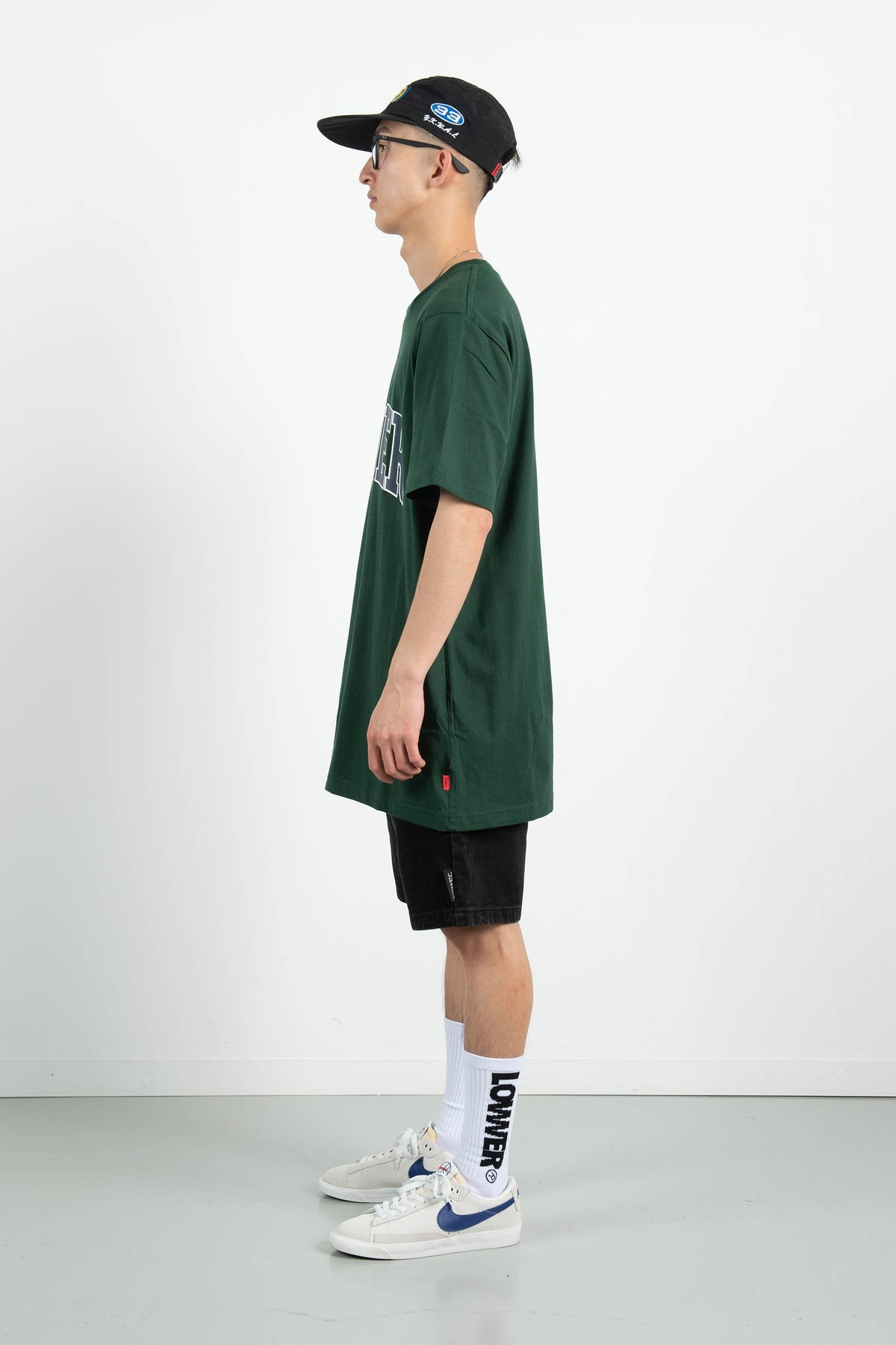 Mens QRS Tee - Quarterback - Green