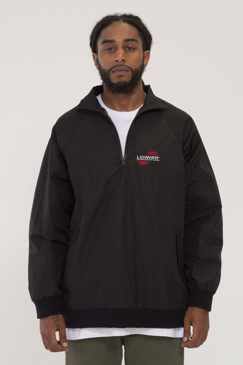 Infrared 1/4 Zip Jacket - Black