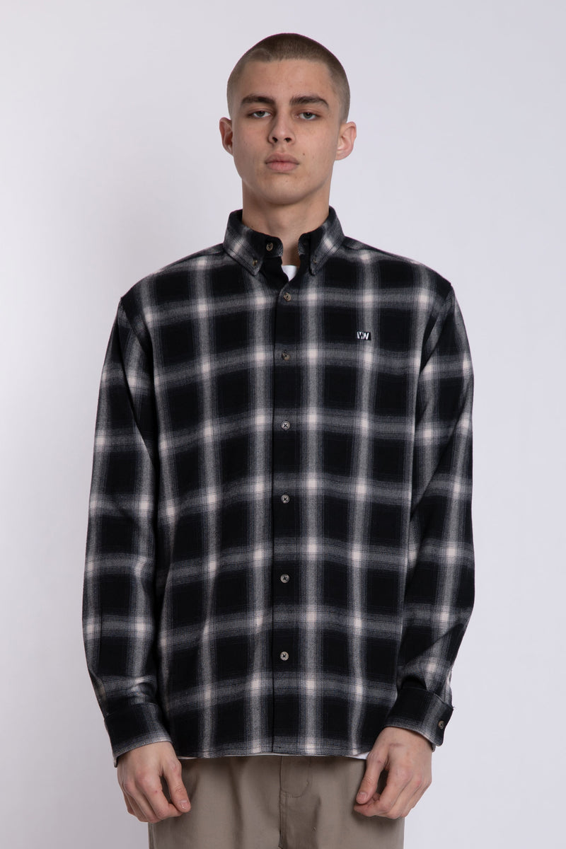RAF Shirt - Black/White Check