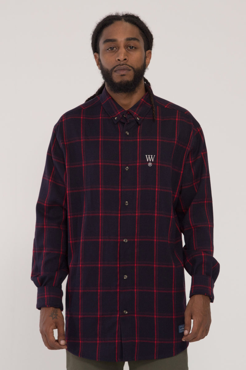 RAF Shirt -Red/Navy