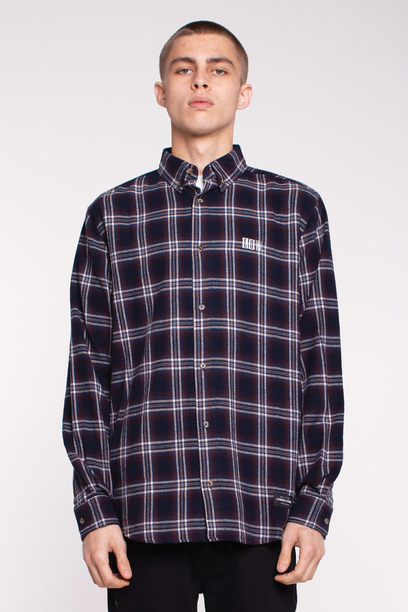 Raf Shirt - Navy Check