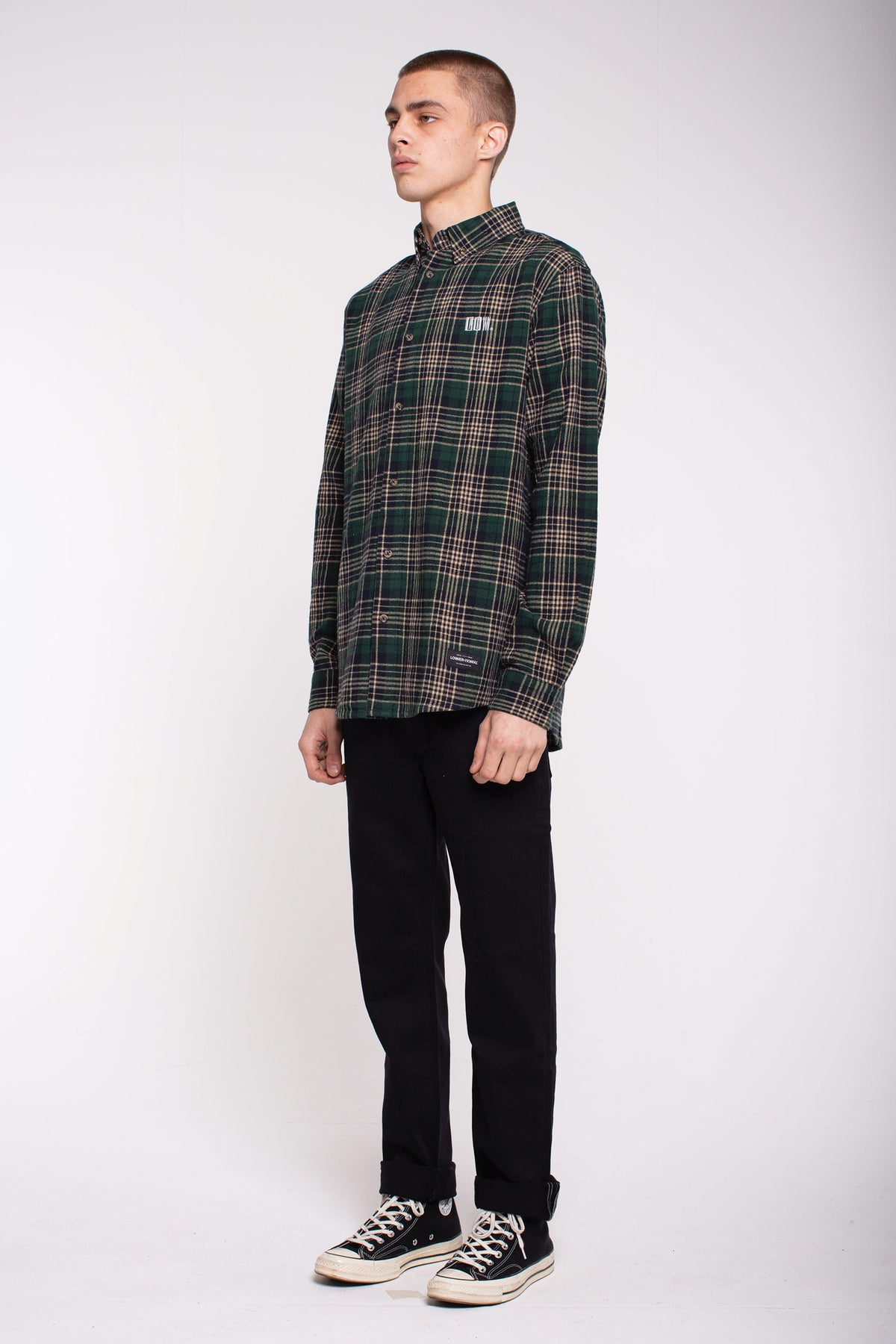 Raf Shirt - Green Check
