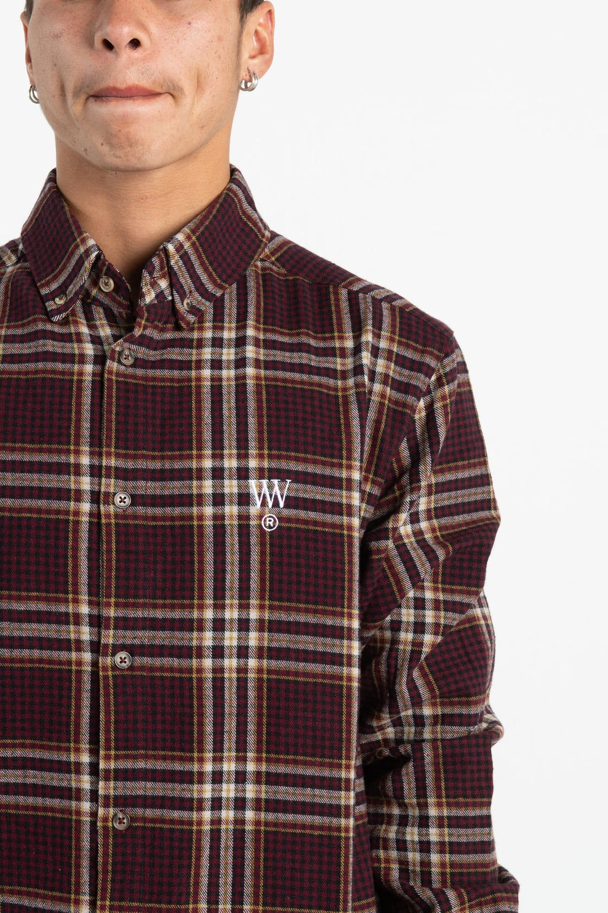 Mens Raf Shirt - Maroon