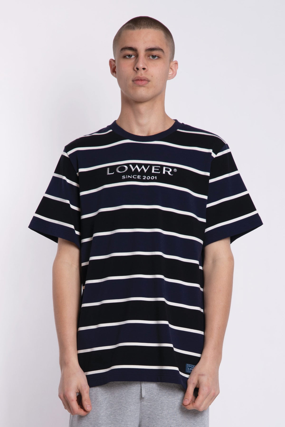 Executive Rail Tee - Black/Ink