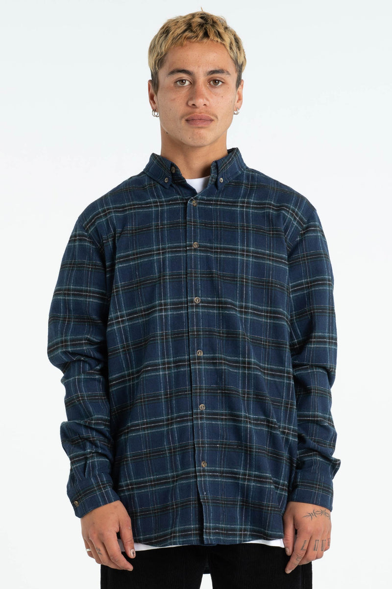 Mens Raf Shirt - Phat Tag - Navy