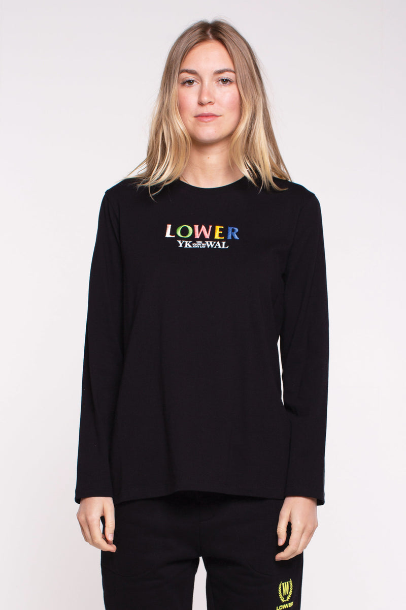Relax L/S Tee - Layered - Black