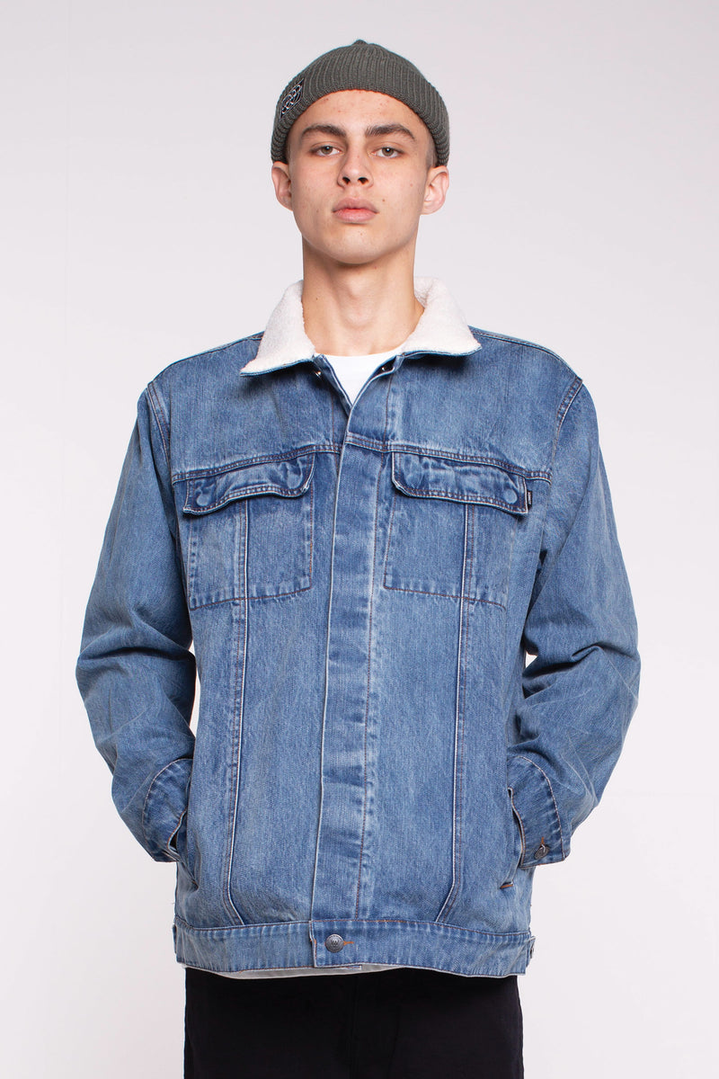 Rinse Jacket - Light Wash