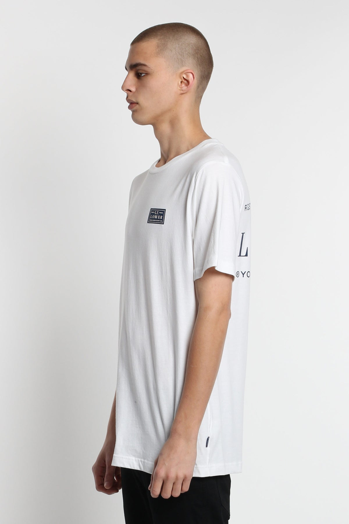 Rodeo QRS Tee - White