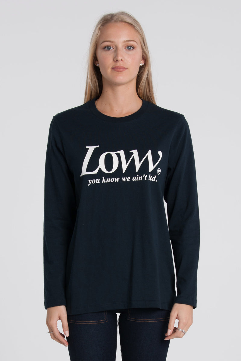 Roman Relax Long Sleeve - Navy