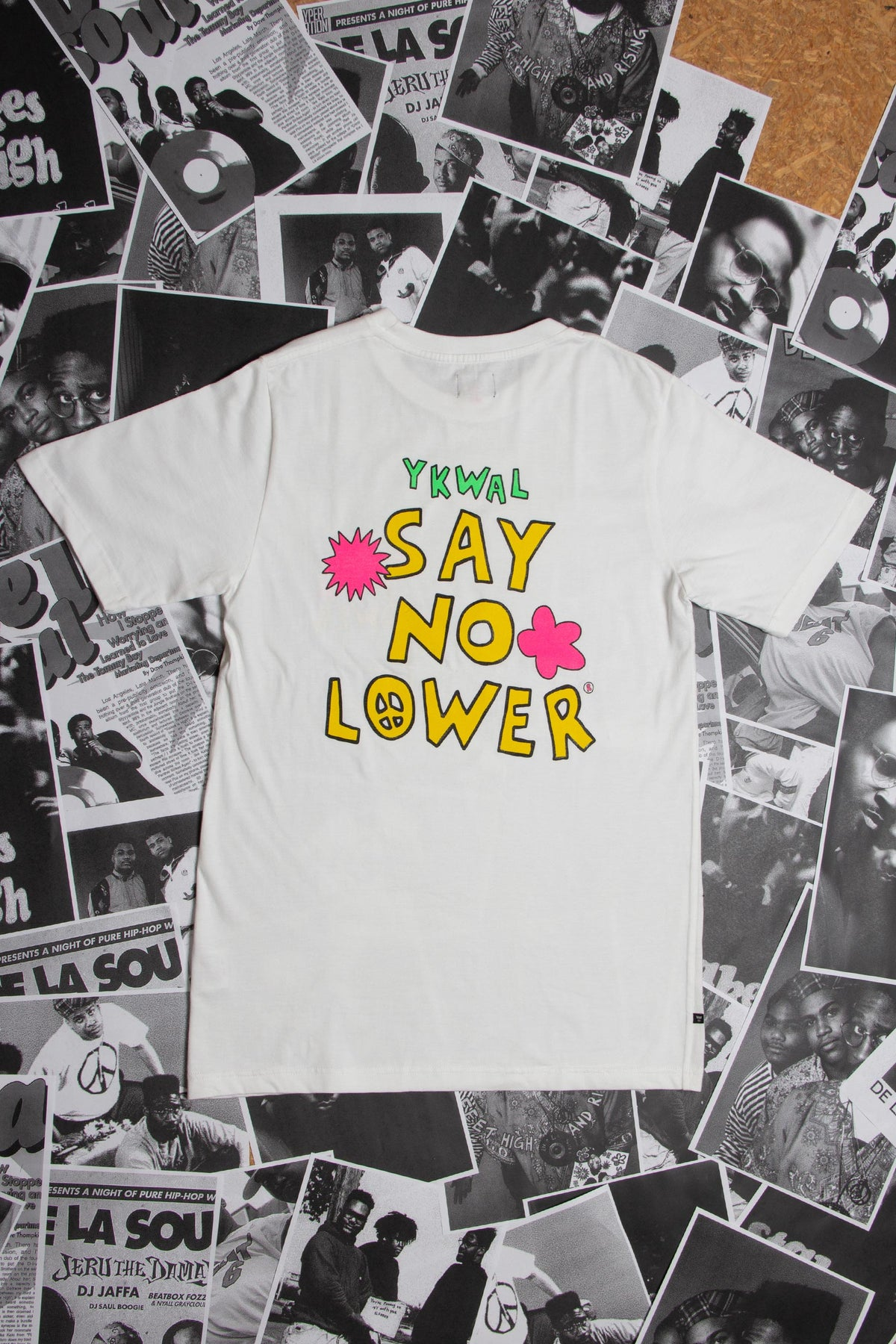 Say No Lower QRS Tee - White
