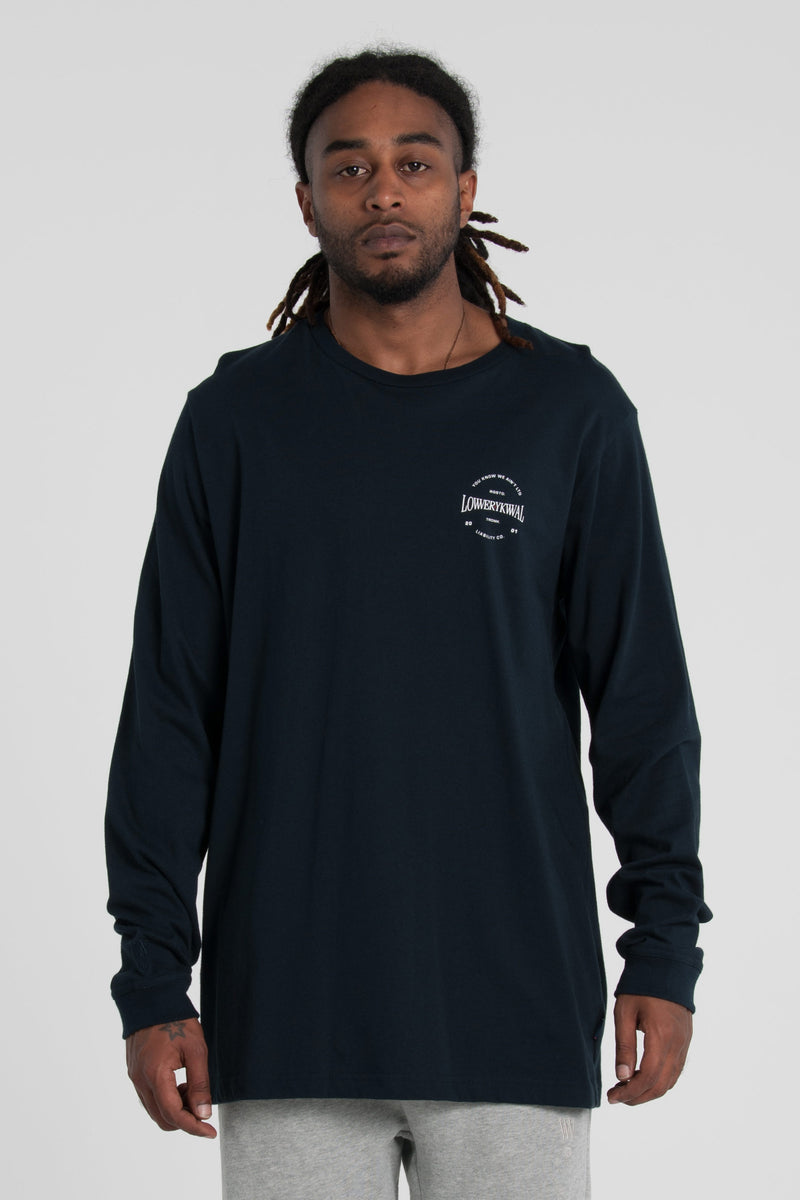 Slugger QRS Long Sleeve Tee - Navy