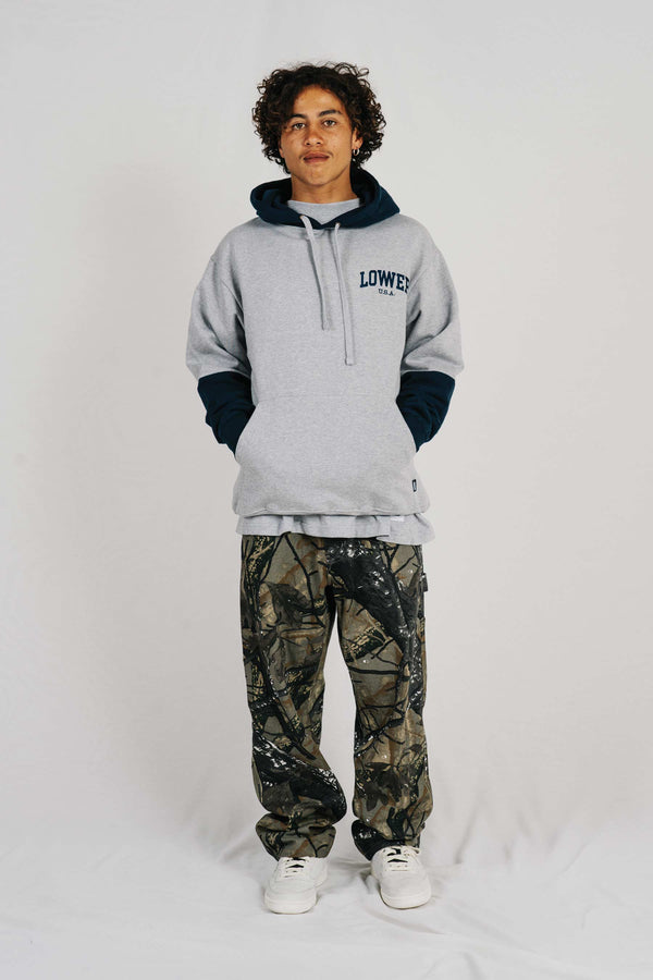 Set Hood - Low USA - Sports Grey/Navy