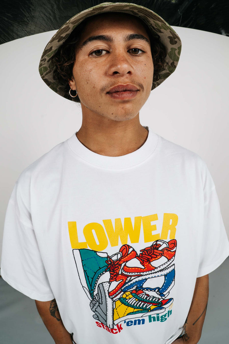 '94 Tee - Stack 'Em High - White