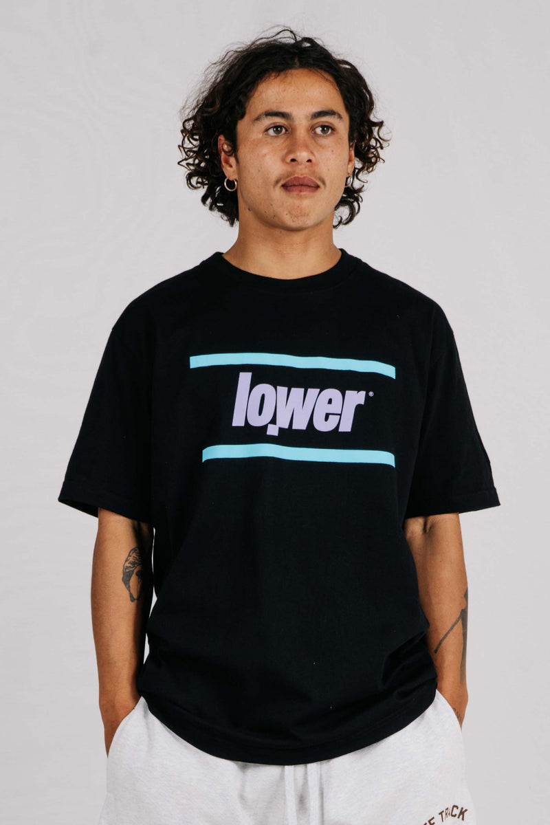 Standard Tee - Lowercase - Black