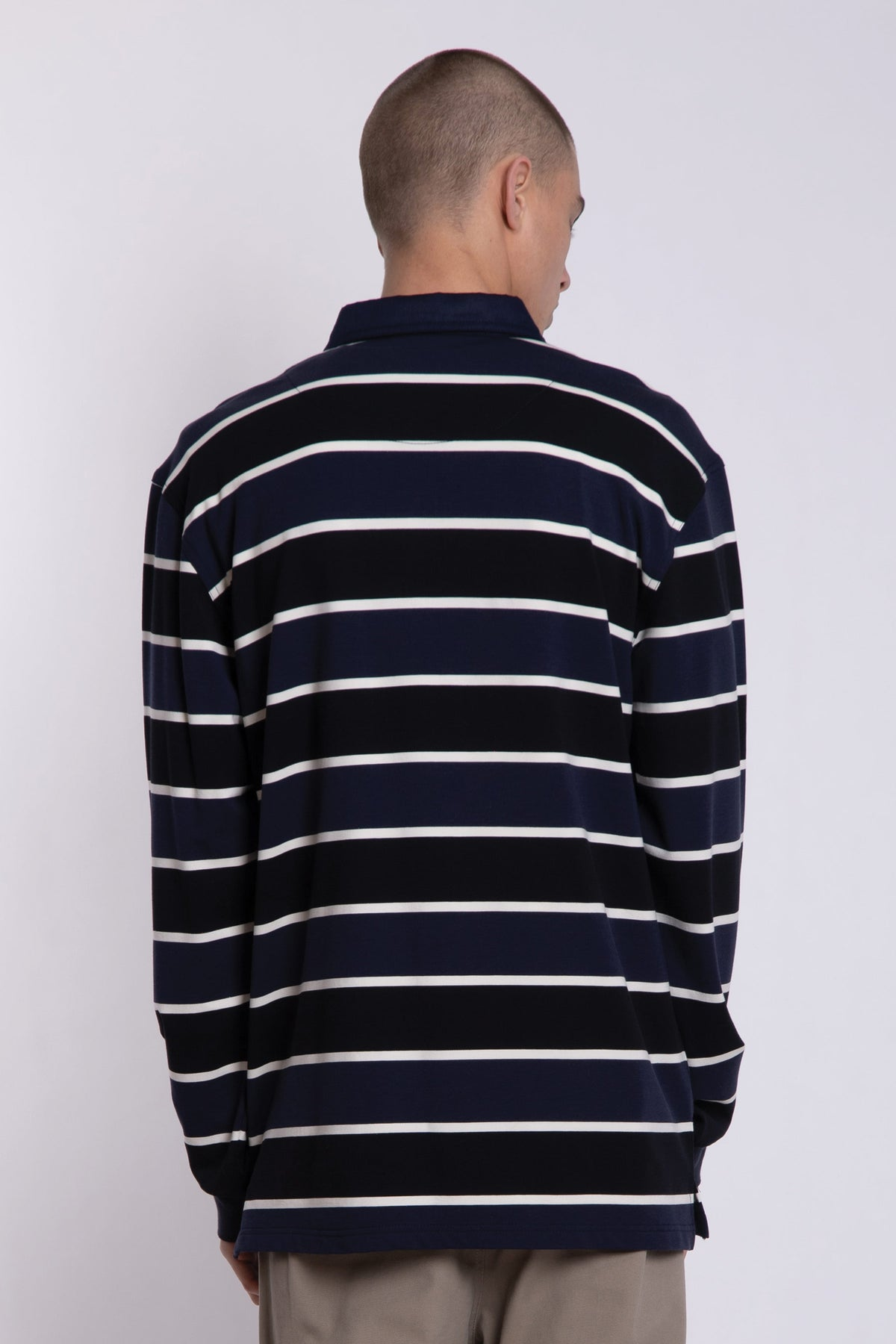 Eurlo Street Polo - Navy/White/Black