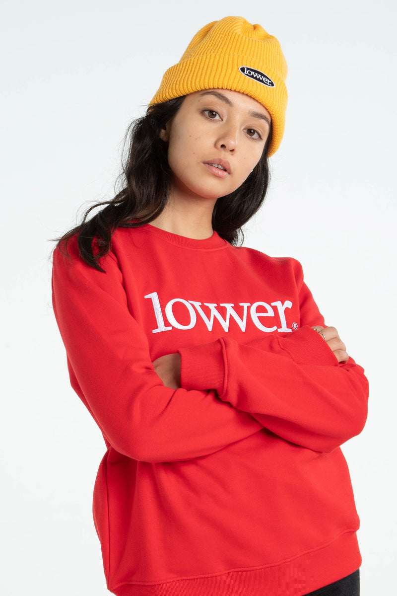 Womens Series Crew - Applebox - Red