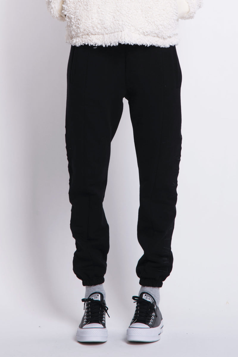 Shelley Track Pants - Black
