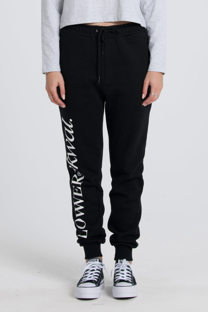 Sine Troup Trackies - Black