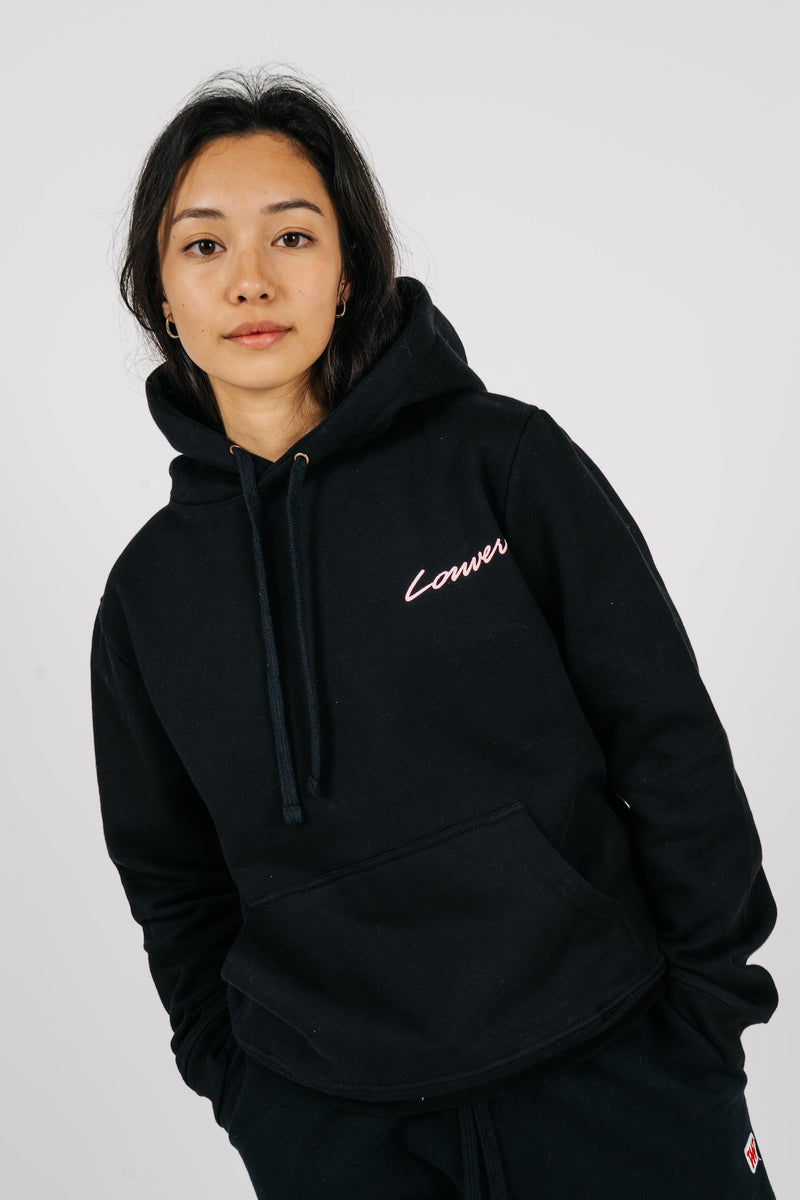 Womens Semester Hood - Carpenter - Black