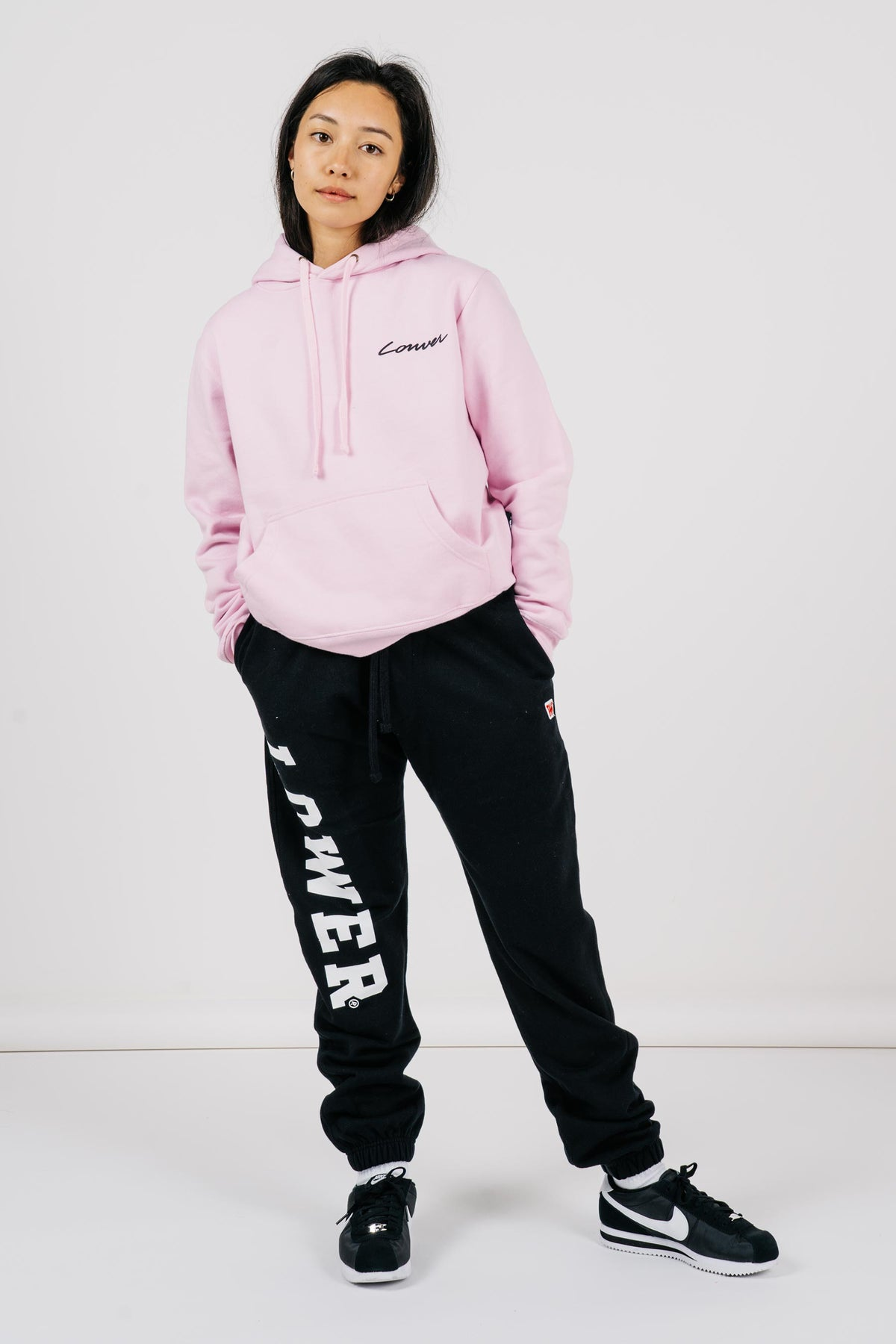 Womens Semester Hood - Carpenter - Pink