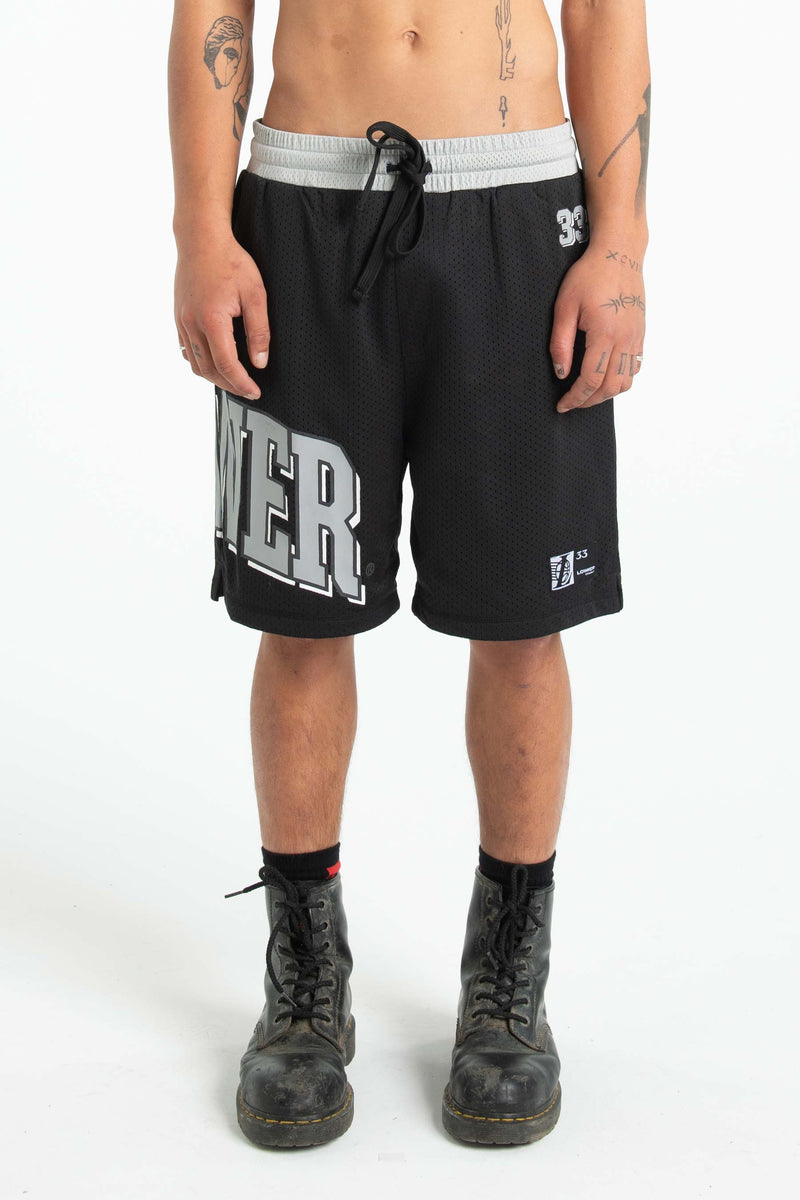 Mens Snell Shorts - Quarterback - Grey/Black