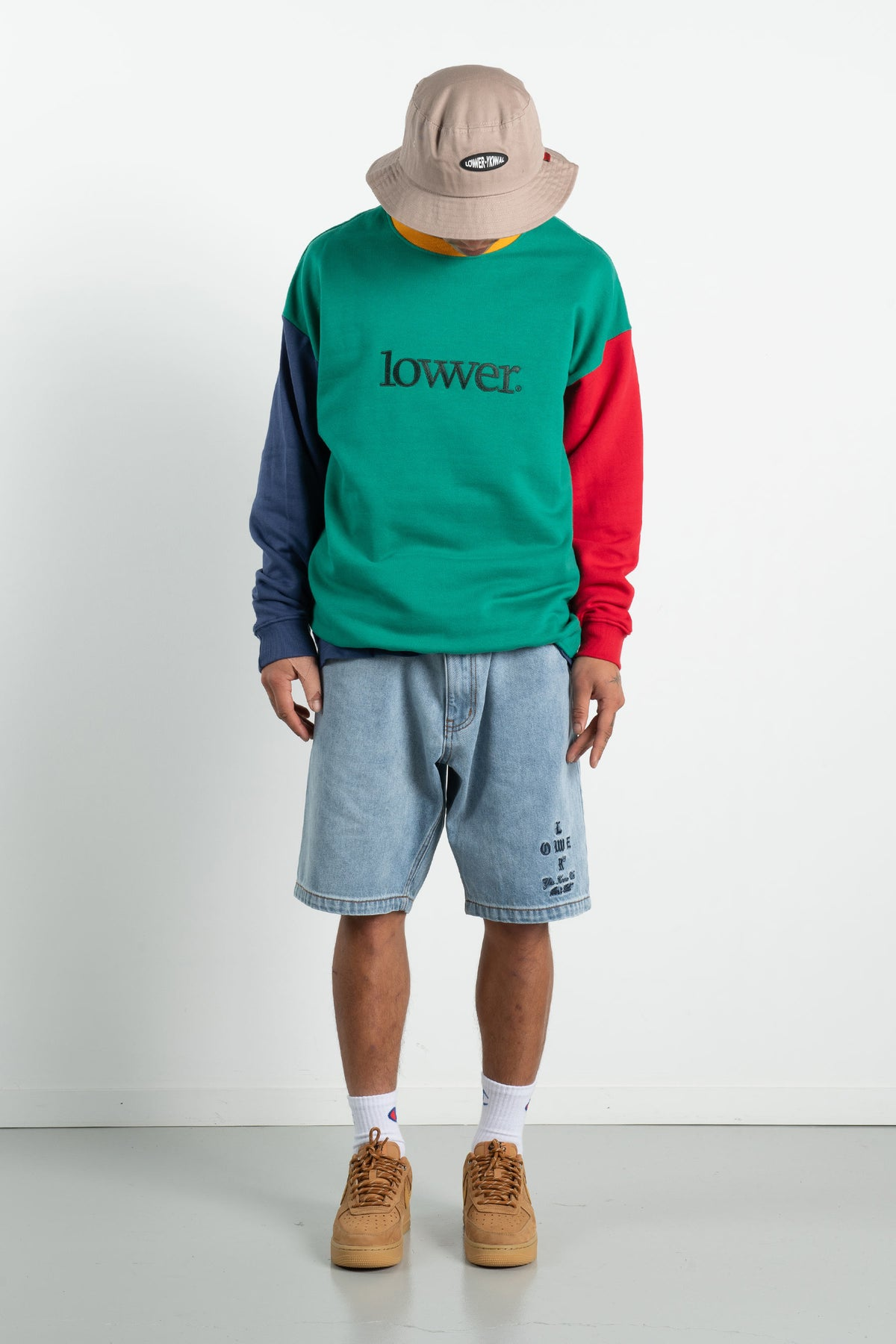Mens BD Crew - Applebox - B/G/G/R