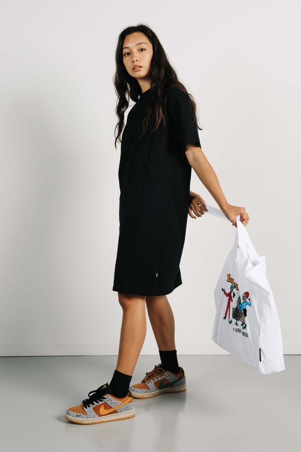 Tee Dress - Applebox - Black