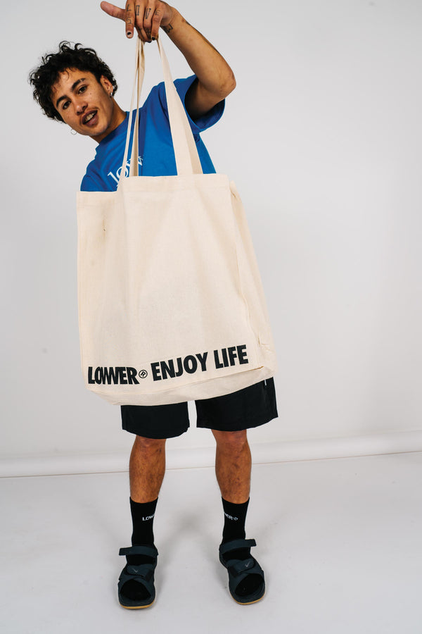 Tote Bag - Enjoy Life - Cream