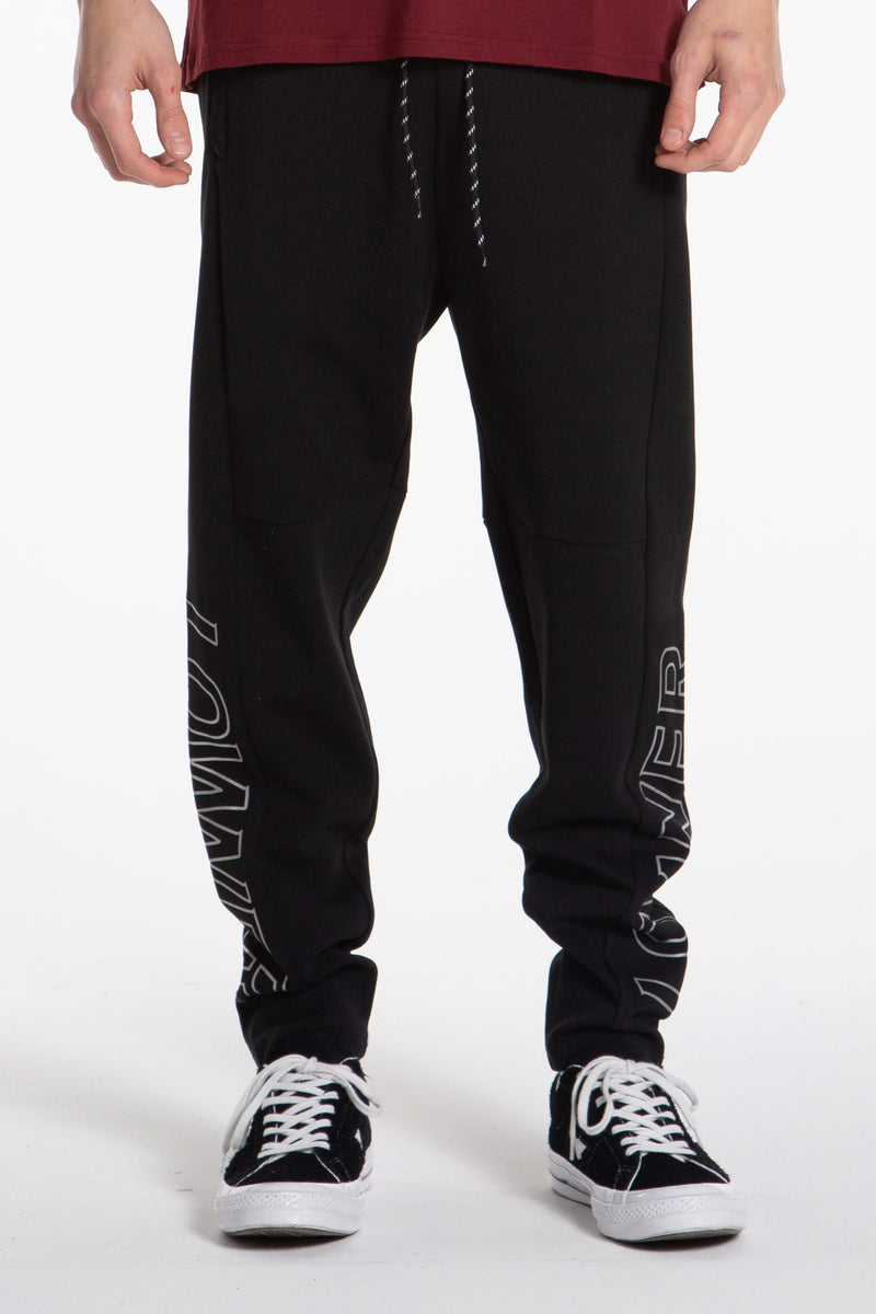 Sports Trackpants - Black