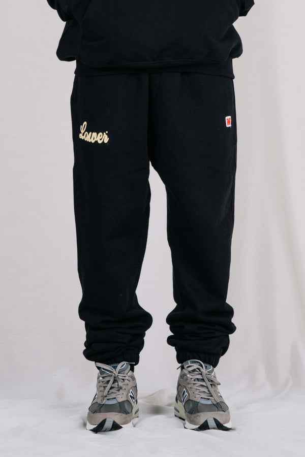 Heavy Trackpant - Ball - Black