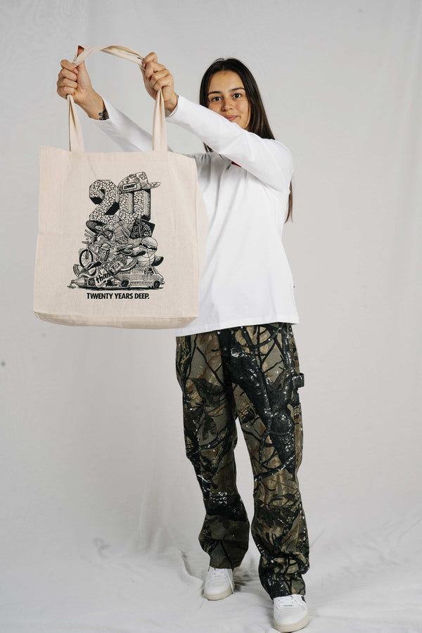 Tote Bag - Twenty Years Deep - Natural