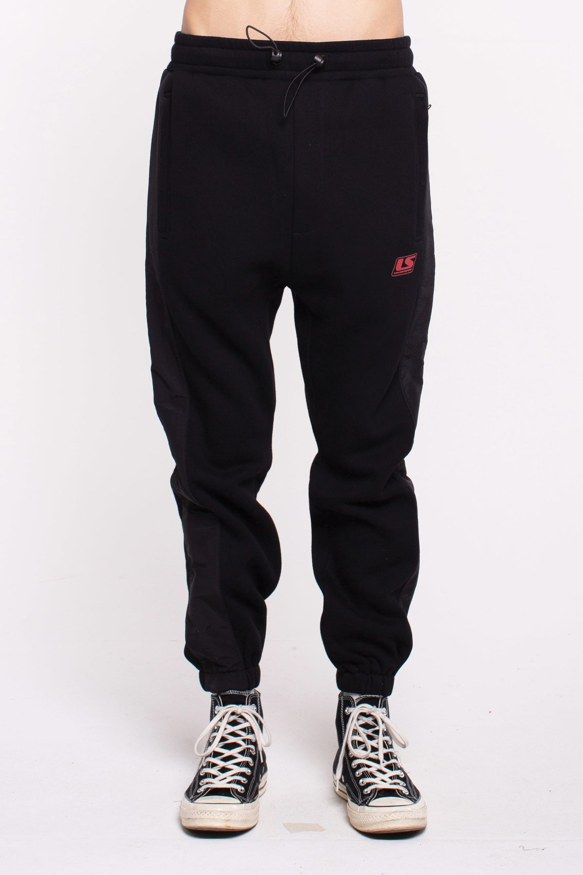 Hurdle Team Trackpants - Black