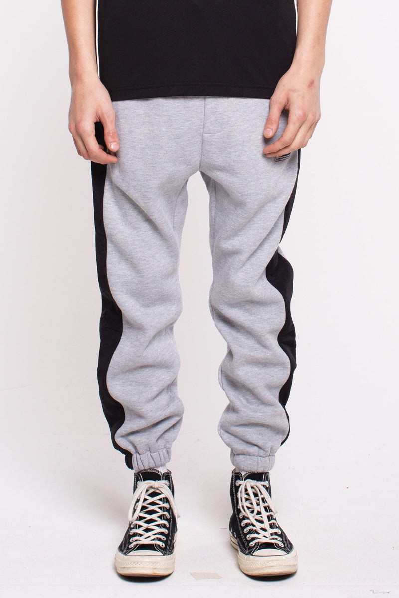 Hurdle Team Trackpants - Grey/Black