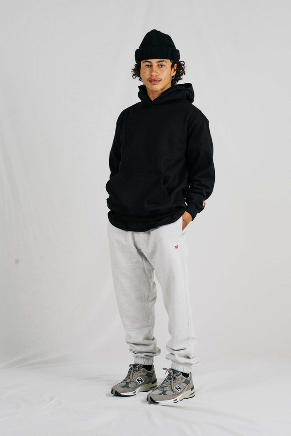 Heavy Trackpant - Silver Marle