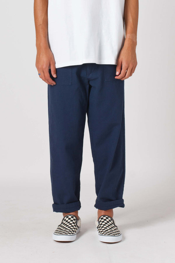 Trench Pant - Navy
