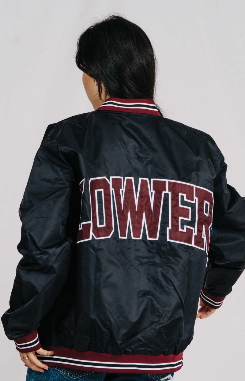 Varsity Jacket - 20 Years - Black/Truffle