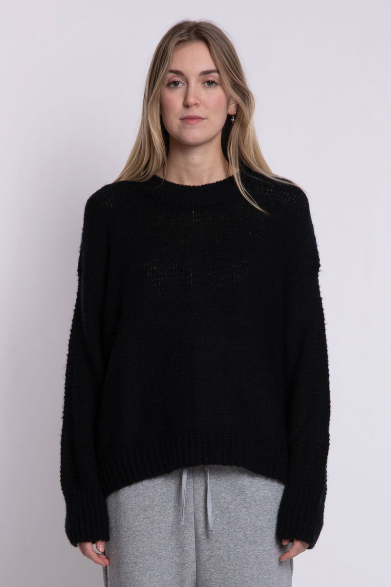 Valley Knit - Black