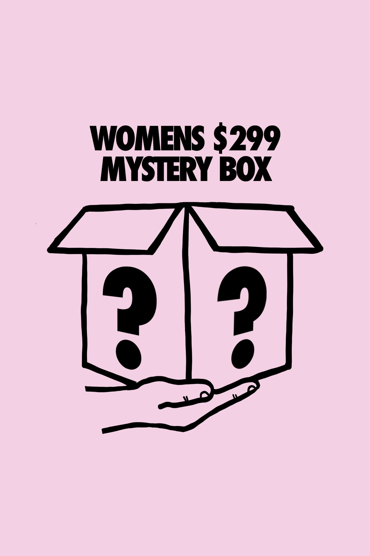 ***LIMITED*** Womens $299 Mystery Box
