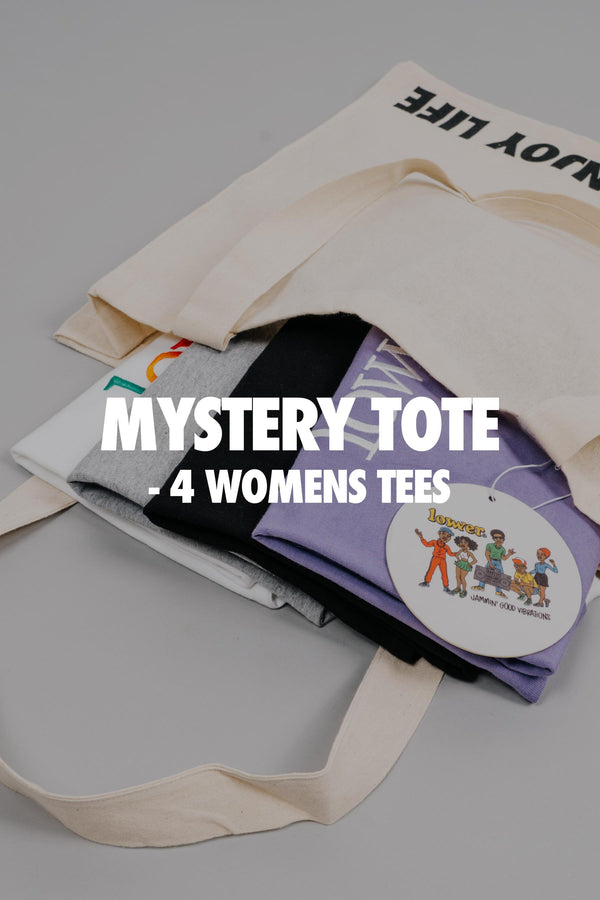 Womens Mystery Tee Tote