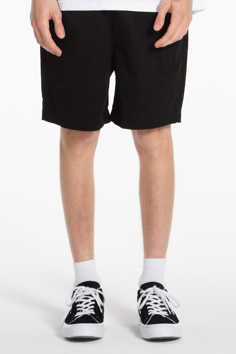 Wood Short - Black