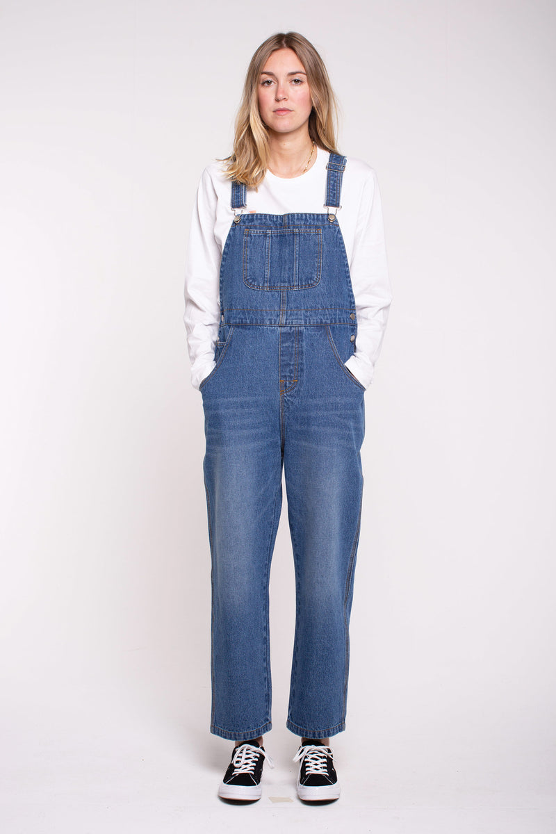Zoe Denim Overalls - Blue