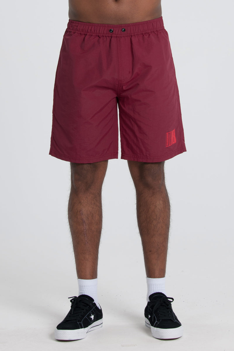 Cube Baby So-Cal Short - Maroon