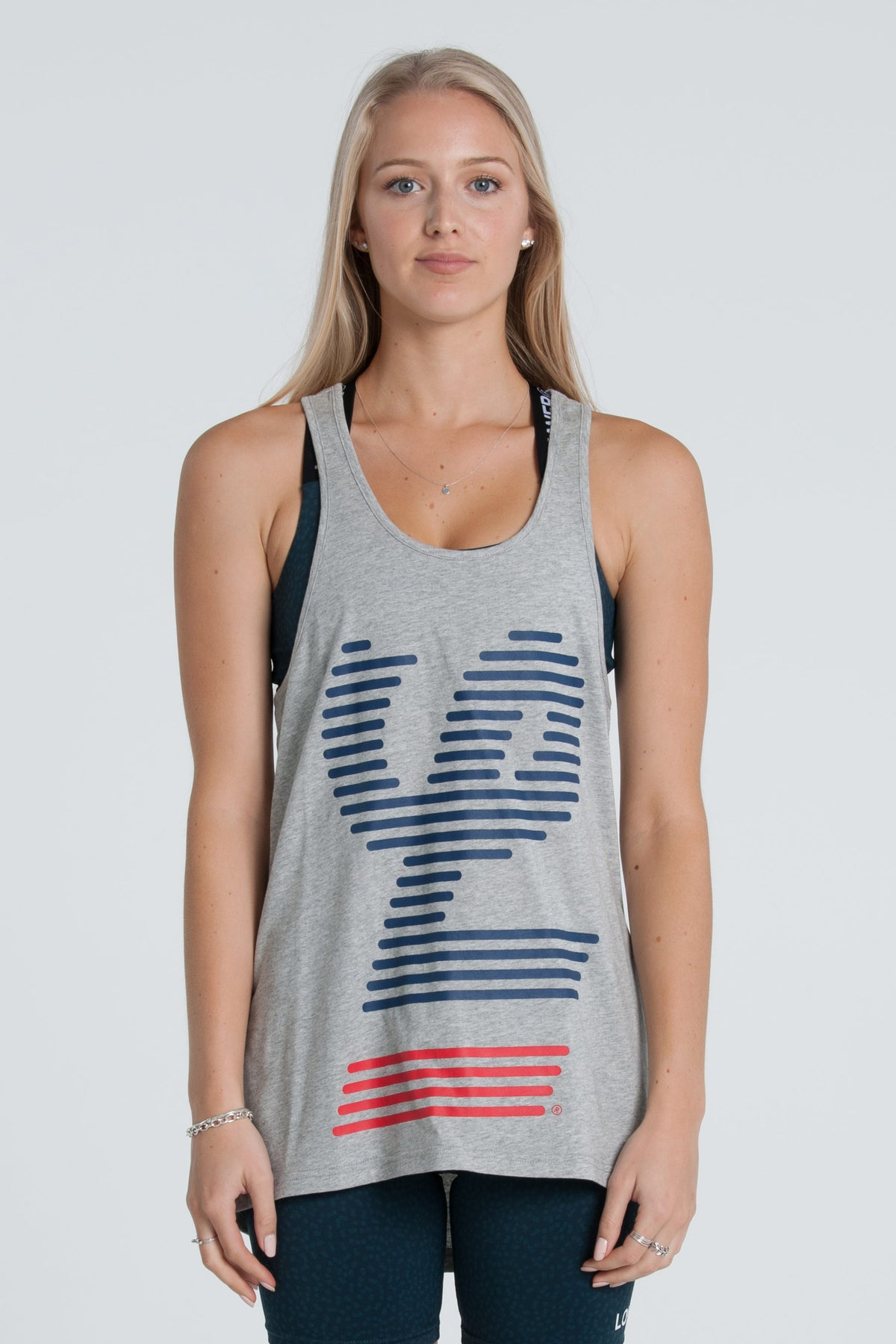 Blinds Climb Tank - Grey Marle