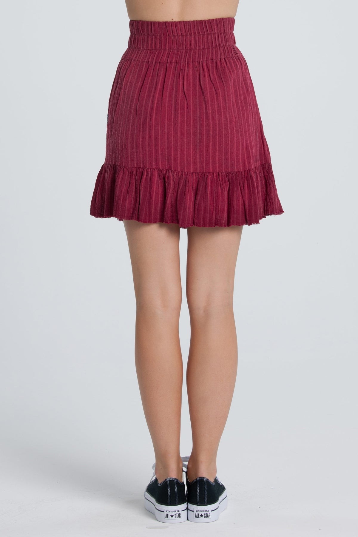 Frida Skirt - Cherry