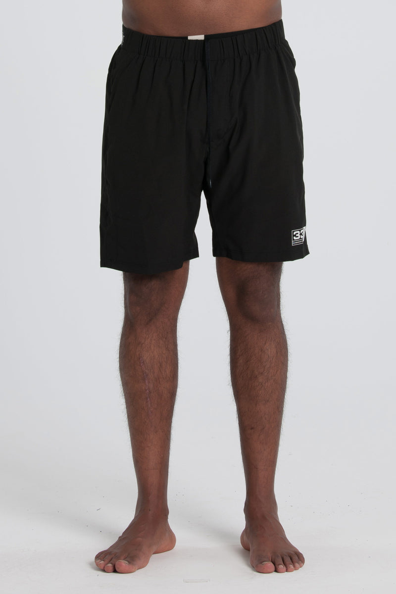 Boxed 33 Gym Short - Black