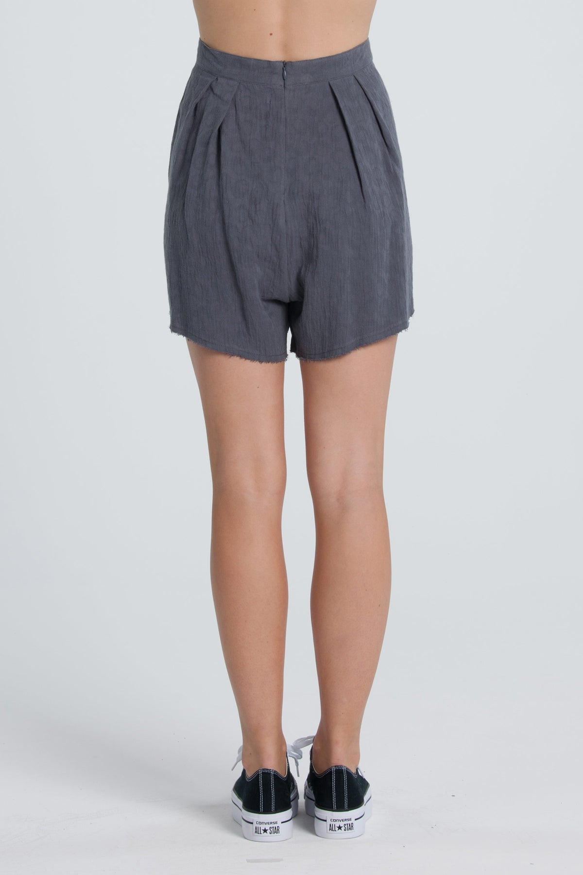 Layla Shorts - Grey