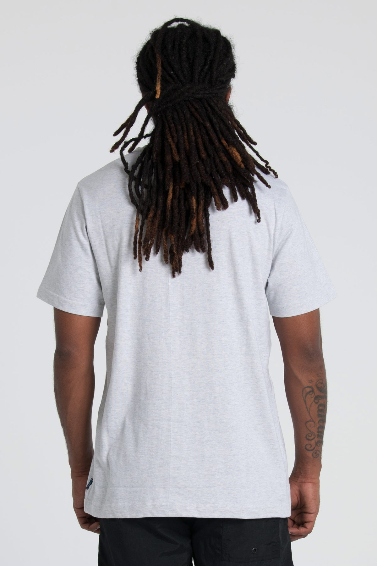 Dropout QRS Tee - Silver Marle