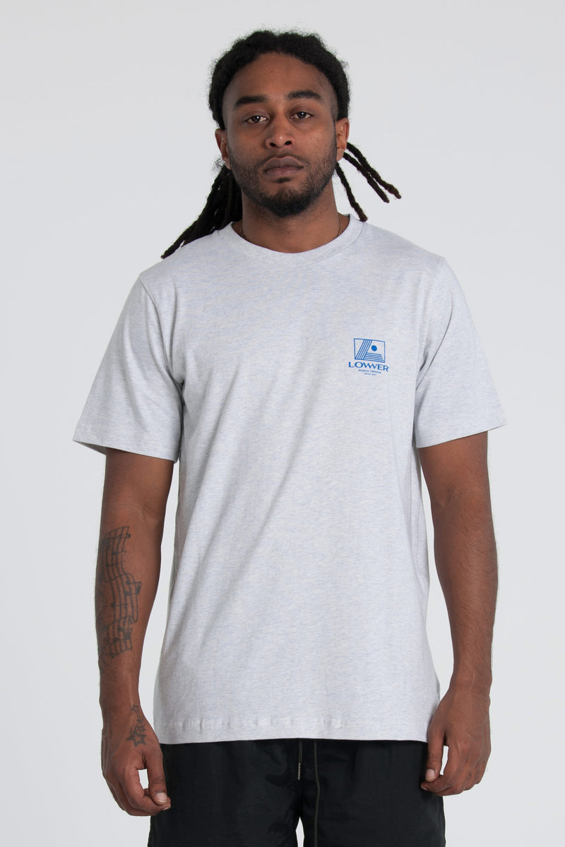 Initiate QRS Tee - Silver Marle